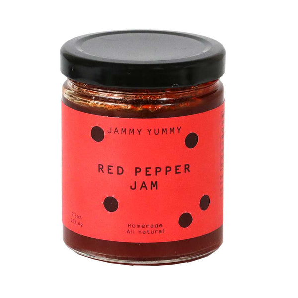 Jammy Yummy - All Natural Red Pepper Jam, 7.5oz