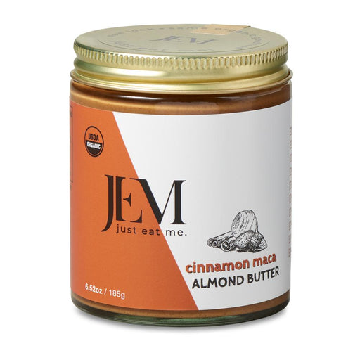 Jem Raw, Organic Cinnamon Red Maca Almond Spread, 6oz