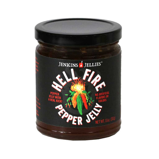 Jenkins Jellies - Hell Fire Cayenne Pepper Jelly, 11oz