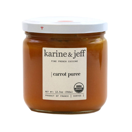 Karine & Jeff - Organic Carrot Puree, 12.3 oz
