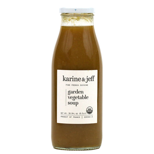Karine & Jeff - Organic Garden Vegetable Soup, 16.9 fl. oz