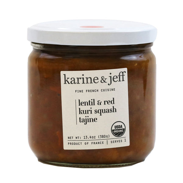 Karine & Jeff - Organic Lentil and Squash Stew (Tajine), 13.4 oz