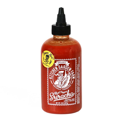 Kitchen Garden Farm - Organic Ghost Pepper Sriracha Sauce, 8oz