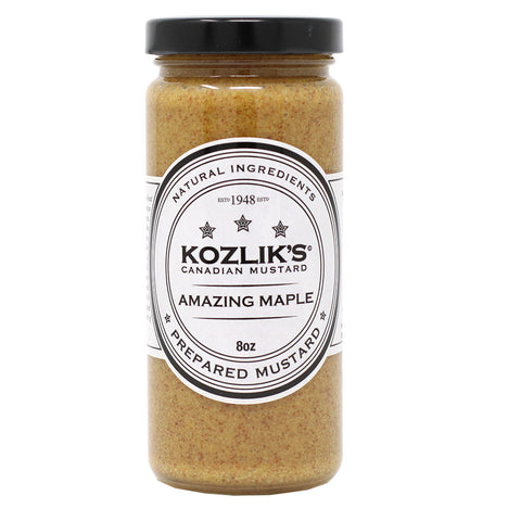 Kozlik's - Canadian Maple Mustard, 8.5oz (241g)