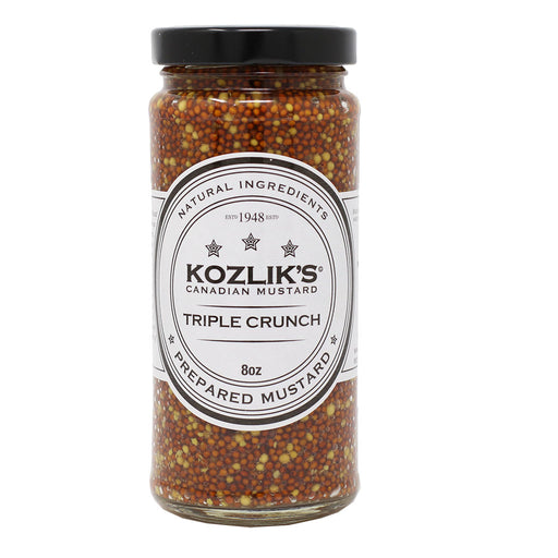 Kozlik's - Triple Crunch Mustard, 8.5oz (241g)