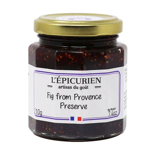 L'Epicurien - Fig Jam from Provence, 7.4oz Jar