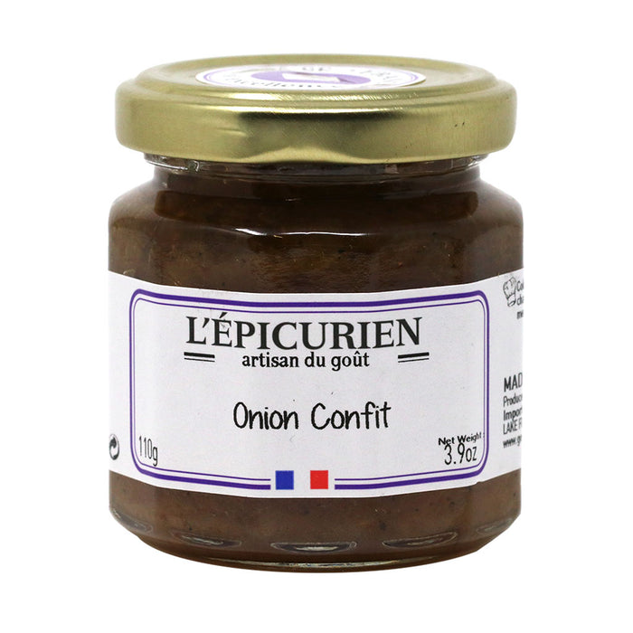 L'Epicurien - All-Natural Onion Confit, 3.9oz (110g) Jar