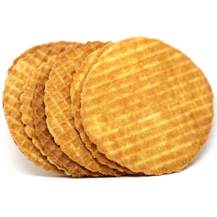 La Dunkerquoise - Pure Butter Waffle Cookies (Chocolate), 5.3oz Tray
