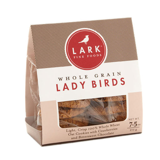 Whole Wheat Oat Cookies with Cranberries and Chocolate *Lady Birds*, 7.5oz