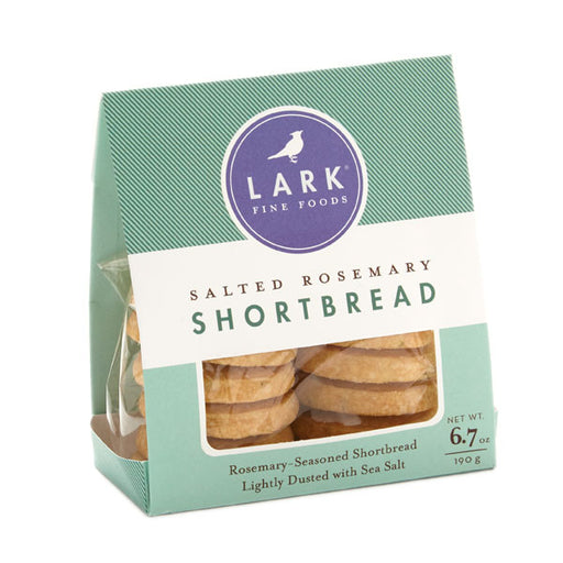 Salted Rosemary Shortbread Cookies by Lark, 6.7oz