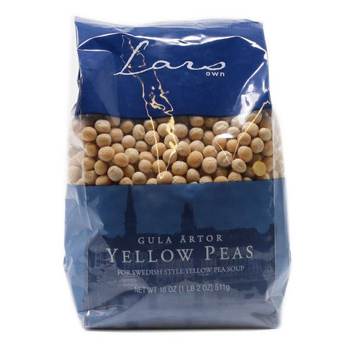 Lars Own - Dried Yellow Peas, 18oz