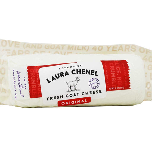 Laura Chenel - Original Fresh Goat Cheese, 8oz Log
