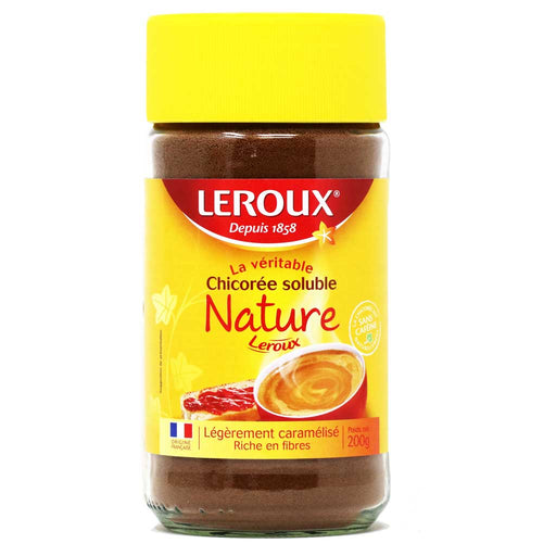 Leroux Chicory Chicoree soluble instant drink available on myPanier