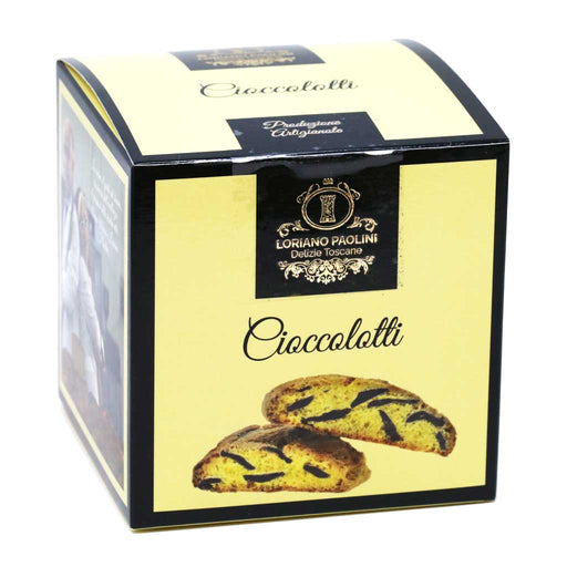 Loriano Paolini - Cioccolotti Tuscan Chocolate Cookies, 7.05oz Box