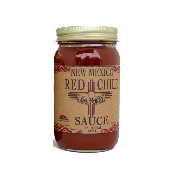 Los Roast - New Mexico Medium Hot Red Chile Sauce, 16oz