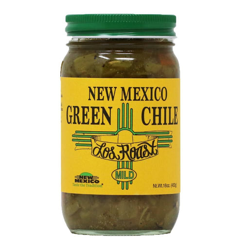 Los Roast - Roasted New Mexico Green Chile (Mild), 16oz
