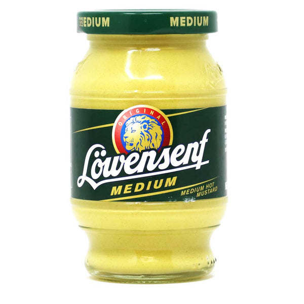 Lowensenf - Medium Hot German Mustard, 9.34oz (265g)