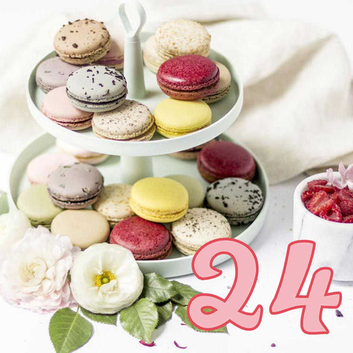 Duverger - All-Natural French Macarons, 24 Macarons