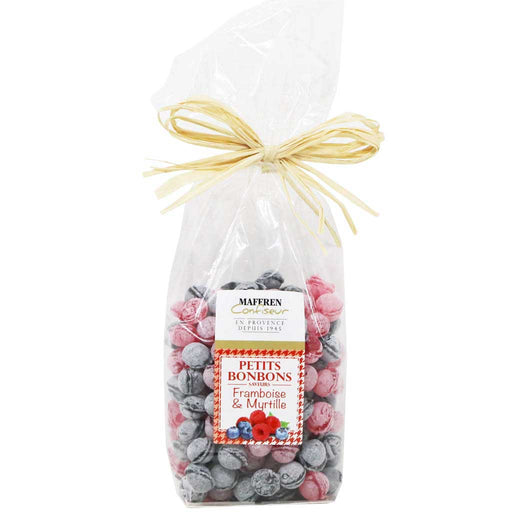 Maffren - French Raspberry & Blueberry Candies, 200g (7.05oz) Bag