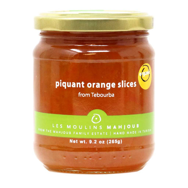 Mahjoub - Piquant Orange Slices Marmalade, 265g (9.3oz)