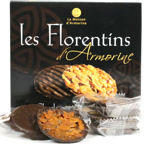 Maison Armorine - Chocolate Florentine Biscuits (Milk, Dark), 8pc Tray