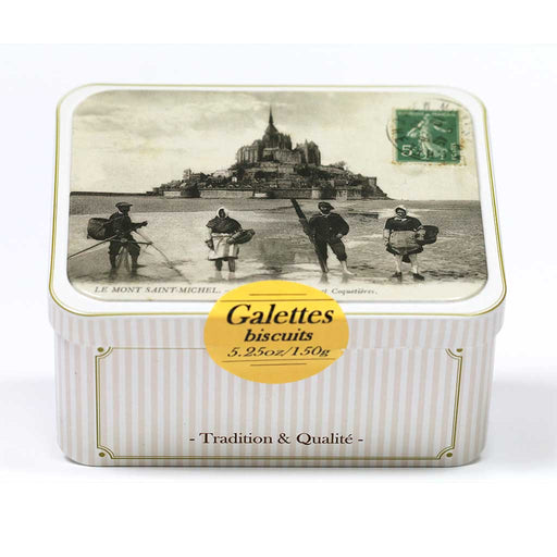 Maison Peltier - French Butter Cookies (Galettes), 150g tin