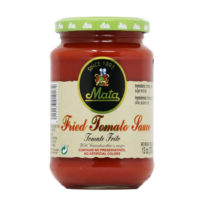 Mata - Fried Tomato Sauce in Olive Oil, 13oz (370g)