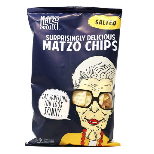Matzo Project - Salted Matzo Chips, 6oz