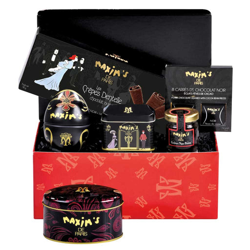 Maxim's de Paris - 100% Gourmand Red Gift Set