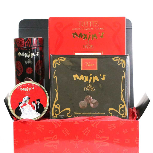 Maxim's Paris - 'La Vie en Red' Gourmet Chocolate Gift Set