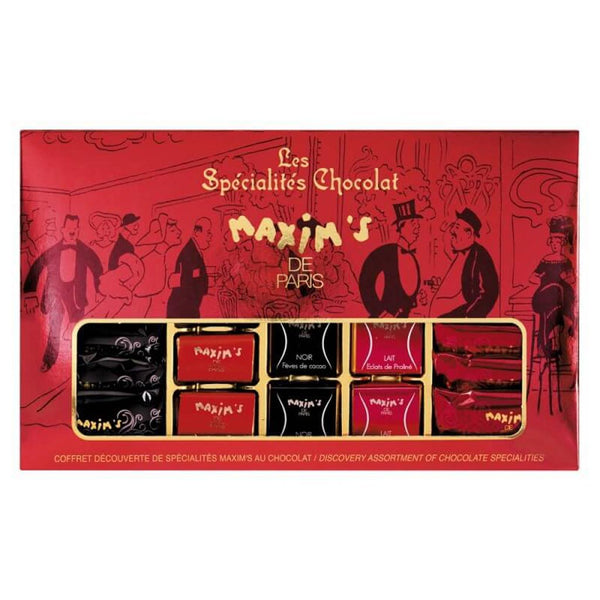 Maxim's Paris - Discovery Assortment of Chocolate Specialties, 6.9oz (195g)