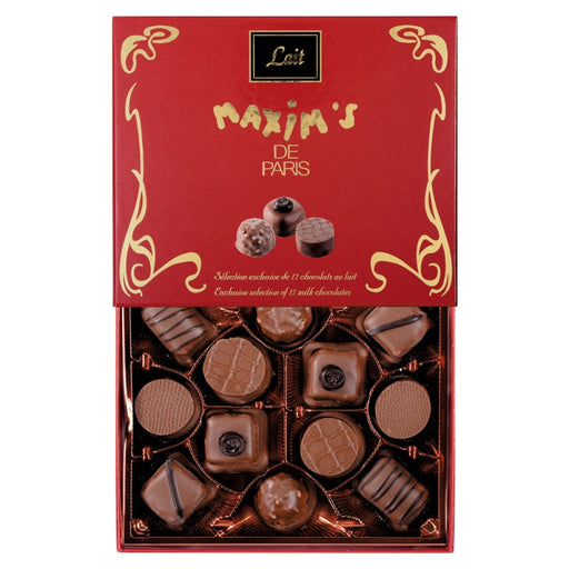 Maxim's Paris - Connoisseur Milk Chocolates, 12 pc Gift Box
