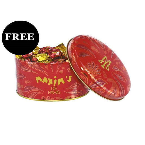 FREE Maxim's Milk Chocolate Covered Hazelnuts WITH ANY PURCHASE WITH $50+ OF MAXIM'S PRODUCTS