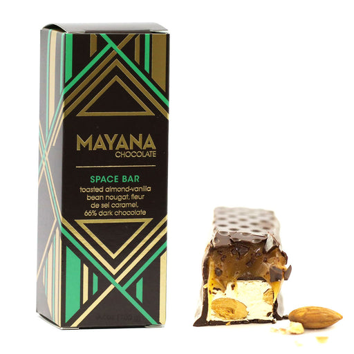 Mayana Chocolate - 66% Dark Chocolate Bar, Space Bar, 3.53oz