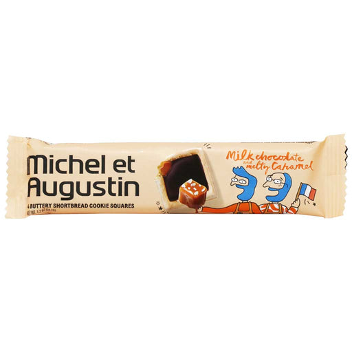 Michel et Augustin - Milk Chocolate & Melty Caramel Cookie Squares, 30g (1.07oz)