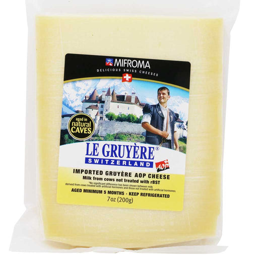 Mifroma - AOP Gruyere Cheese, 7oz (200g)