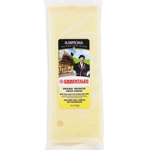 Mifroma - Emmentaler Swiss Cheese, 7oz (200g)