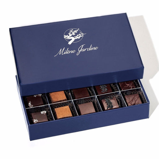 "Milene Jardine - ""Live by Love"" Artisanal Chocolate Truffle Gift Box, 15 pc"