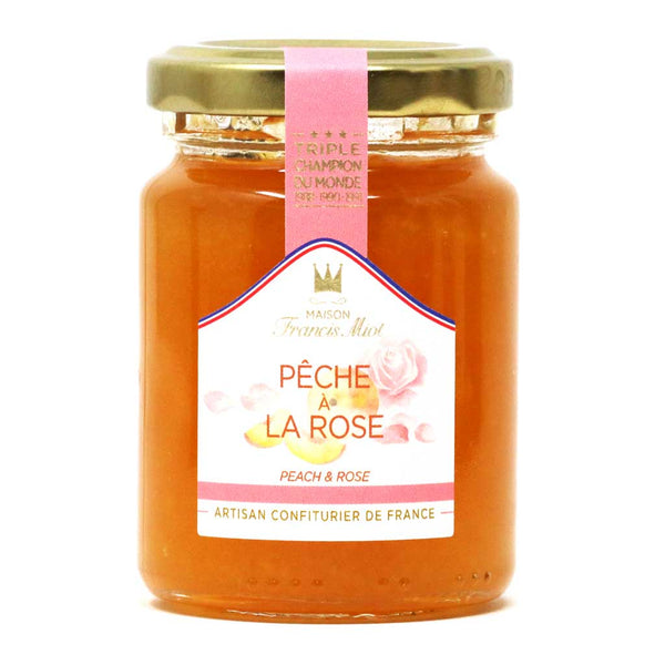 Miot - Peach & Rose French Fruit Artisan Preserve, 100g