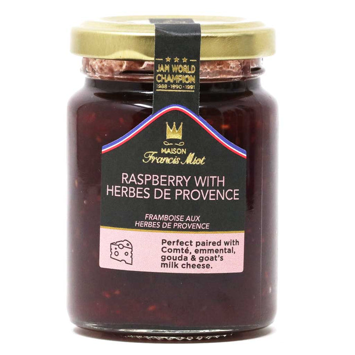Miot - Raspberry Jam with Herbs from Provence, 100g