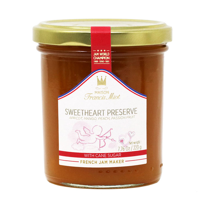 Miot - Sweetheart French Fruit Preserve Jam, 220g