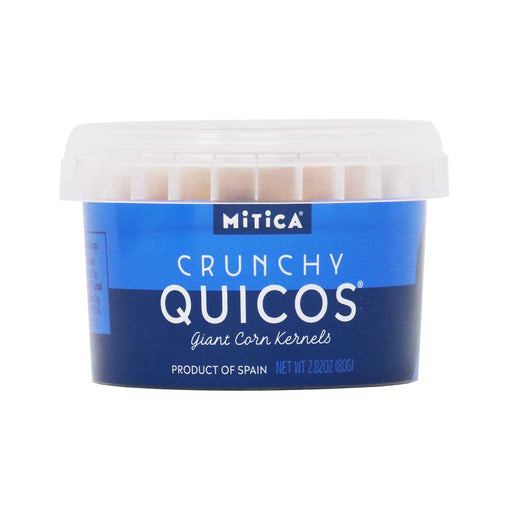 Mitica - Quicos, Crunchy Corn from Spain, 2.82oz Mini Tub