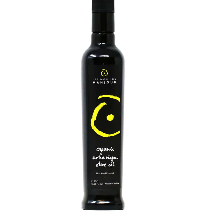 Mahjoub - Organic Extra Virgin Olive Oil, Cold Pressed, 16.9 fl oz (500ml)