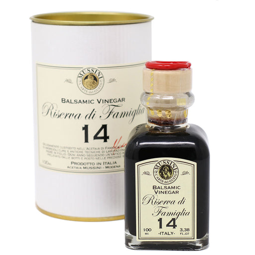 Mussini - 14 Year Aged Balsamic Vinegar from Modena | Riserva Di Famiglia | 100ml (3.4oz)