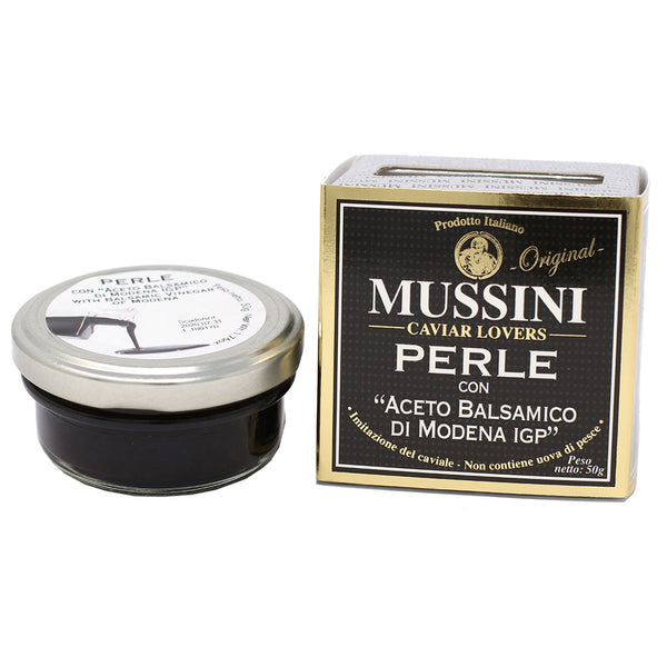 Mussini - Traditional Balsamic Vinegar Pearls, IGP, 50g (1.76oz)