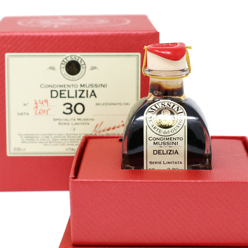 Mussini - 30 Year Aged Balsamic Vinegar from Modena | Delizia | 71ml (2.4oz)