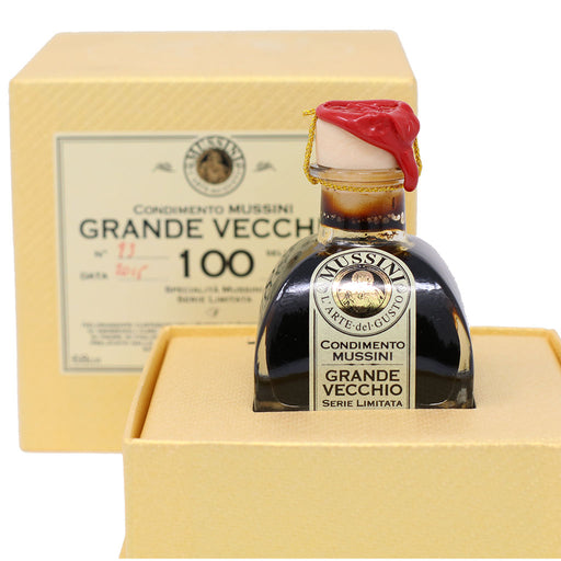 Mussini - 100 Year Aged Balsamic Vinegar from Modena | Grande Vecchio | 71ml (2.4oz)