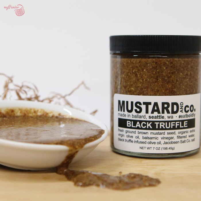Mustard & Co - Black Truffle Mustard, 7oz