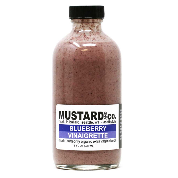 Mustard & Co - Blueberry Vinaigrette, 8oz