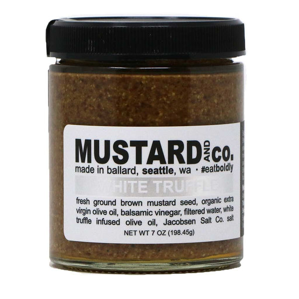 Mustard & Co - White Truffle Mustard, 7oz